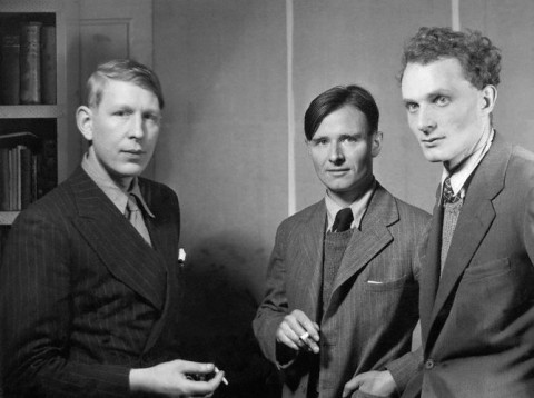 Oh what throes of despair Must we in society bear! Auden, Christopher Isherwood, Sir Stephen Spender, 1937