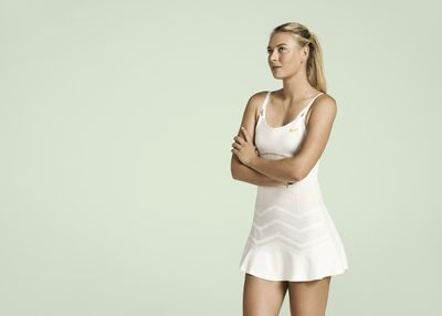 Maria Sharapova is judging you.