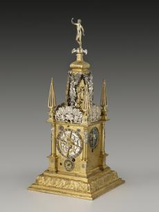 David Weber's 17c Augsburg clock